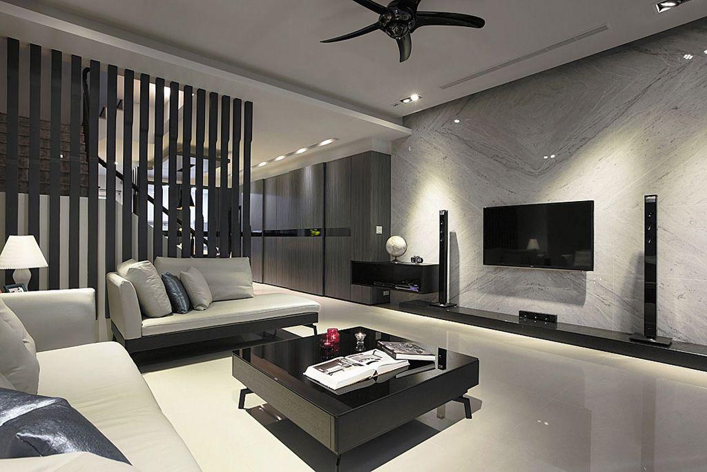 家装96平复式素雅现代风装饰