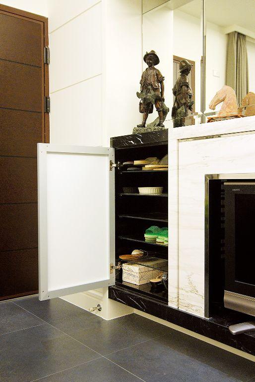 簡約現代玄關鞋柜設計圖