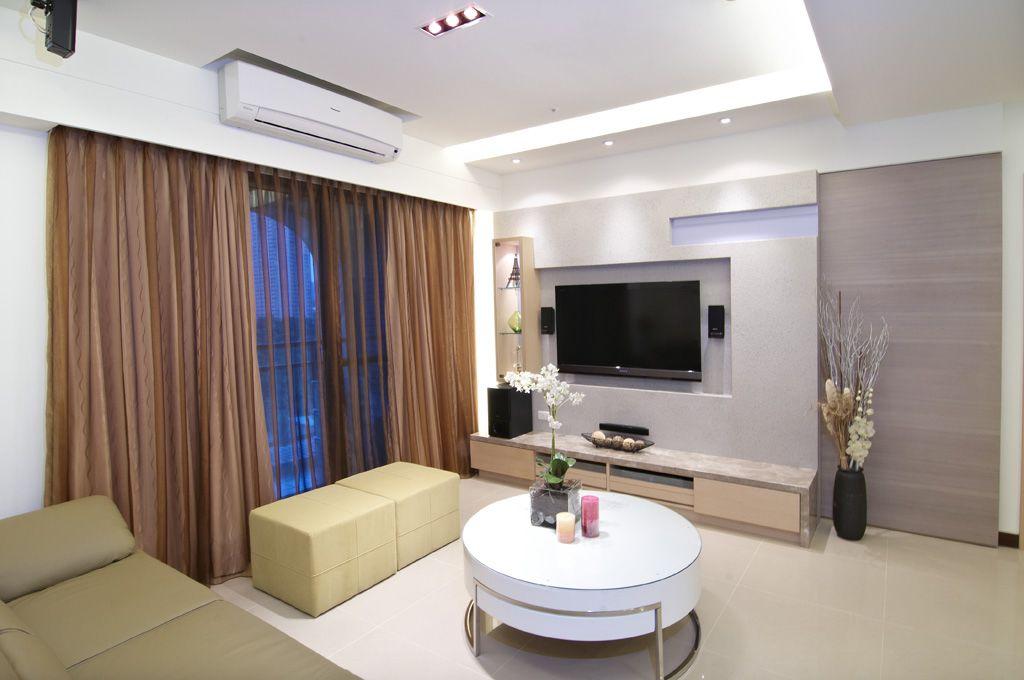 60平米小戶型公寓清新宜家風格裝飾效果圖
