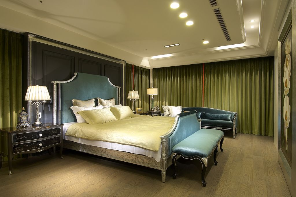 装修百科 装修效果图 装修美图 古典欧式风格卧室软装欣赏 古典欧式