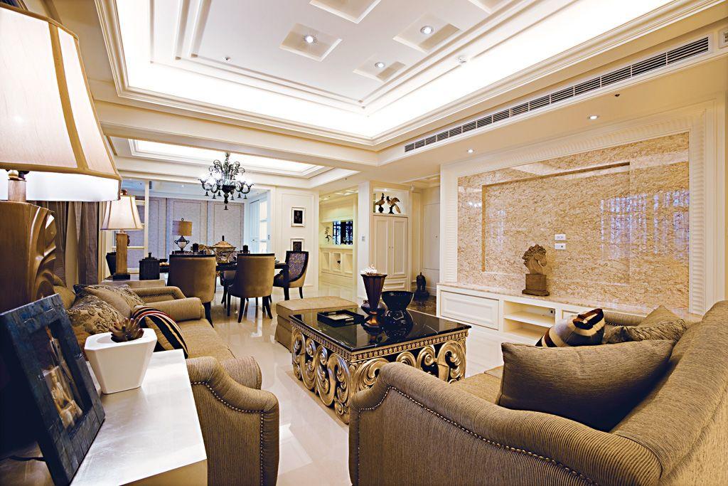 欧式古典风格公寓装修效果图_装修百科