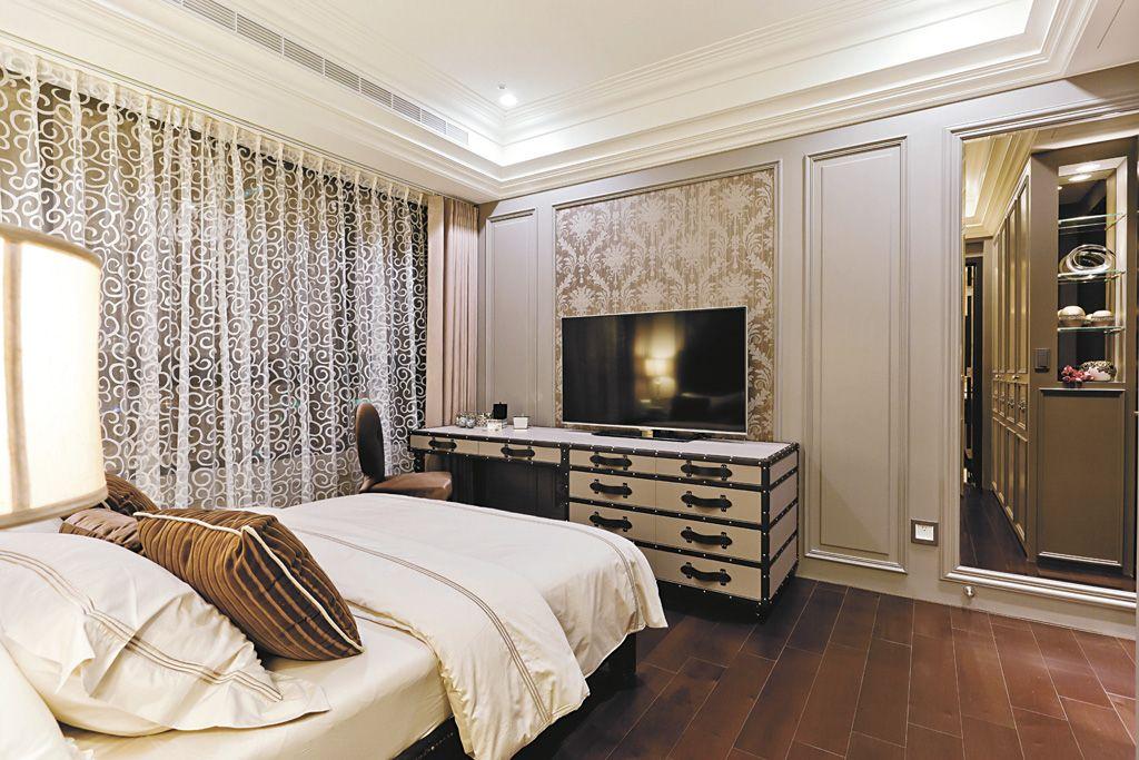 歐式風格臥室設計裝修效果圖