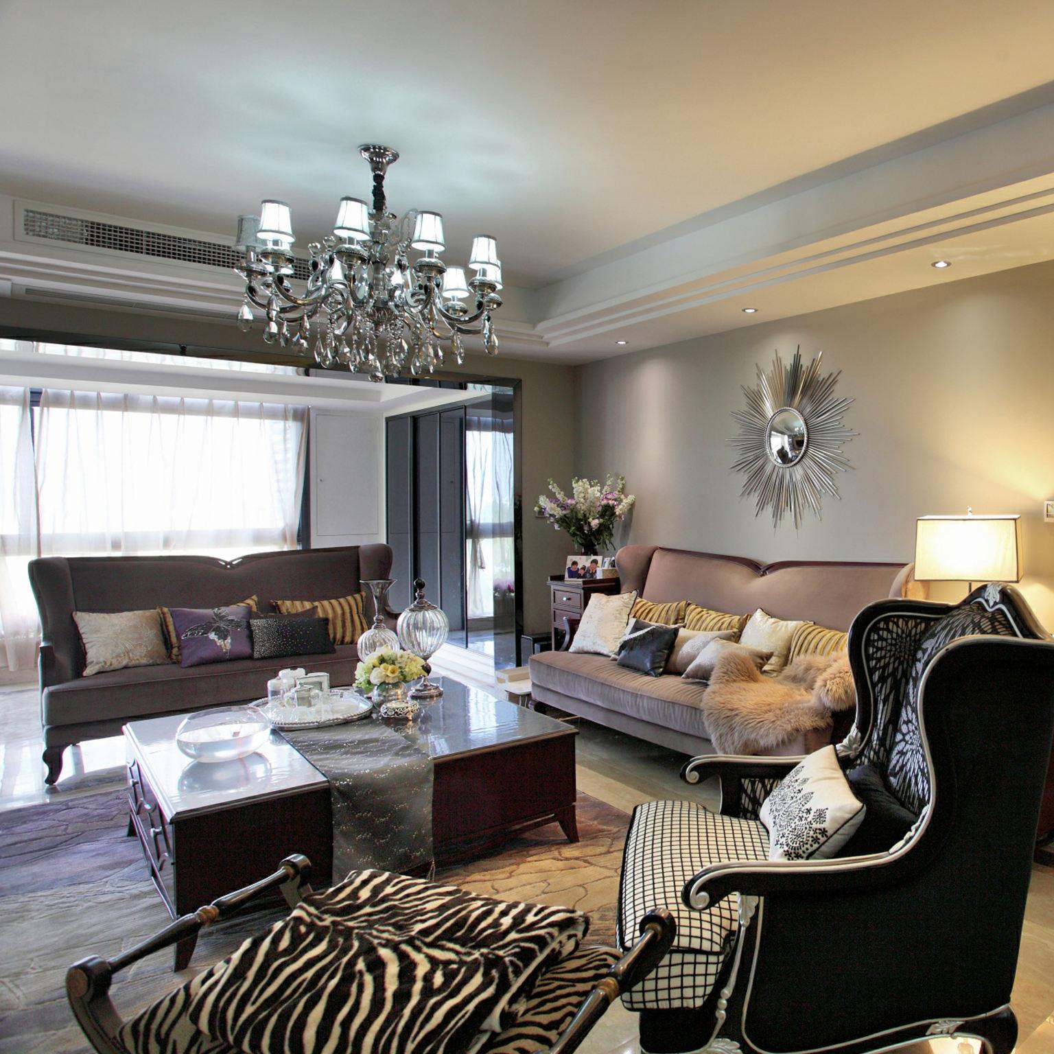 奢华浪漫欧式别墅样板房案例