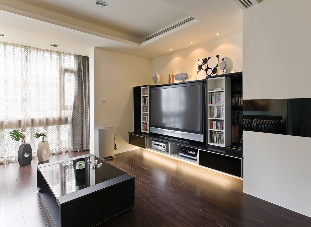 時尚現代單身公寓裝修方案圖
