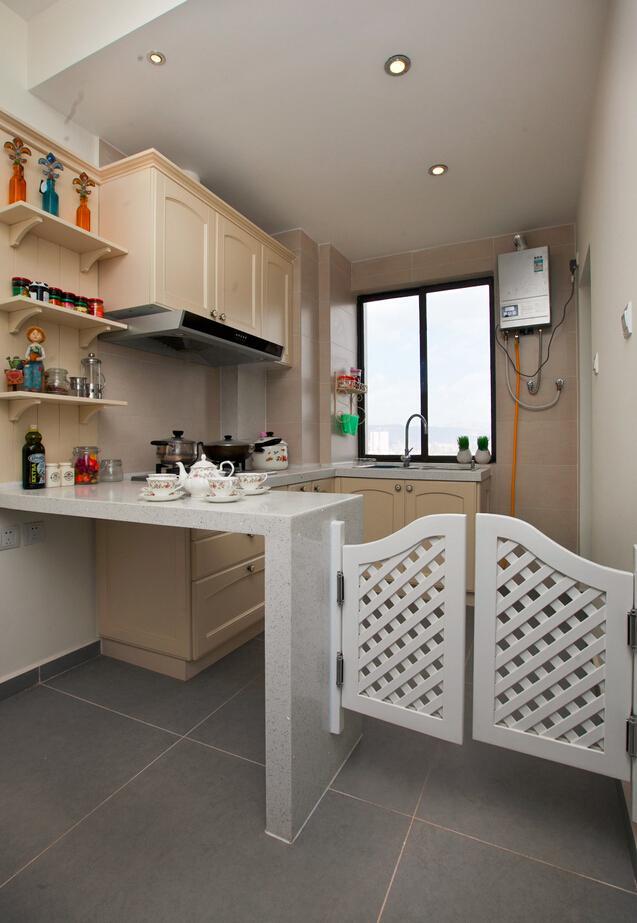 地中海風格廚房隔斷設計