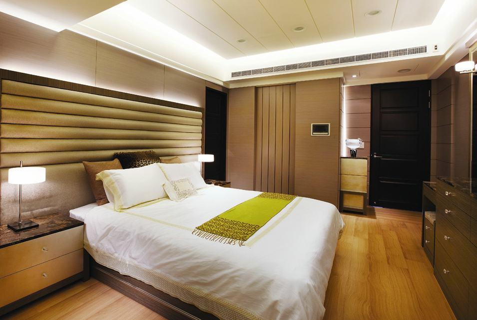 古典美式风格卧室装修图