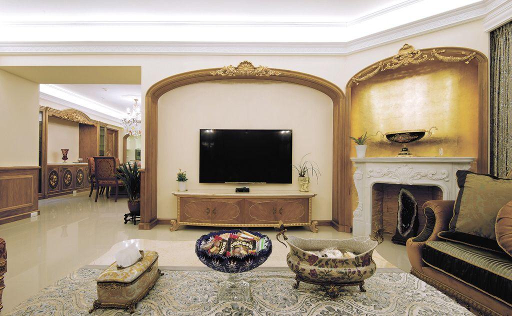 东南亚风格家居背景墙设计