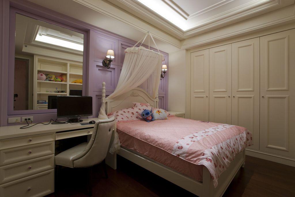 装修效果图 装修美图 浪漫简欧卧室装饰欣赏图