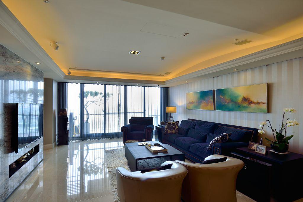 简欧风格公寓室内装潢设计