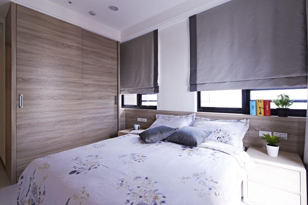 2017北欧风格衣柜卧室装修效果图大全 2017北欧风格衣柜卧室装修效