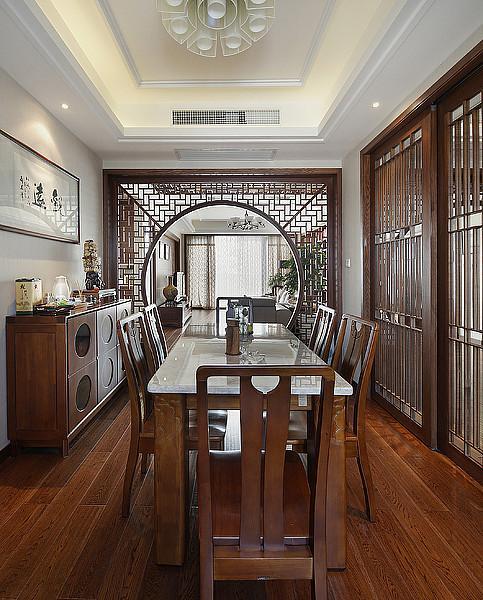 現代中式風格 家居室內隔斷裝修設計