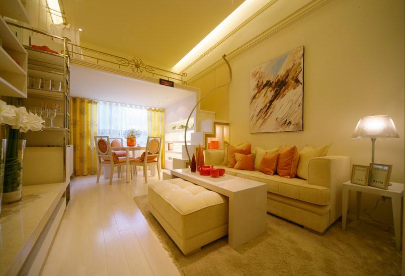 優雅日式風格客廳裝修圖
