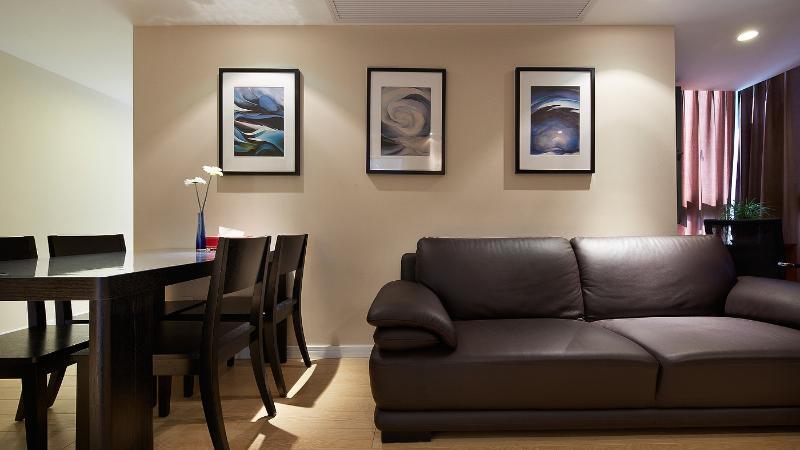 简约现代二居室装修效果图