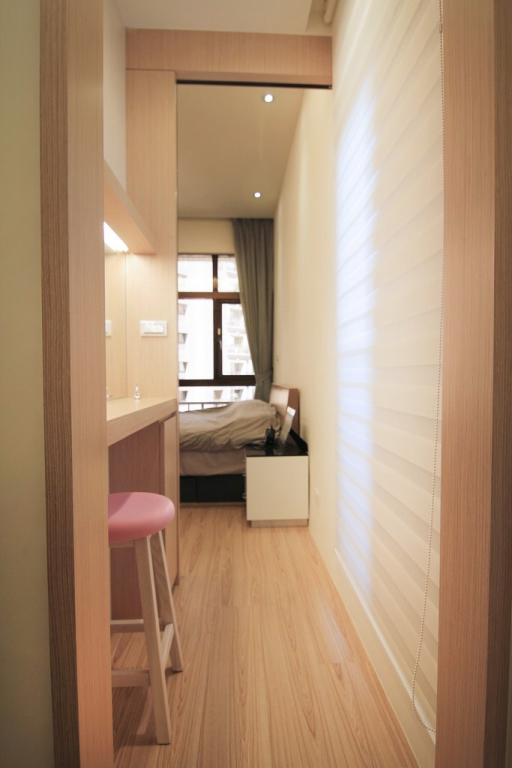 簡約日式臥室過道裝修