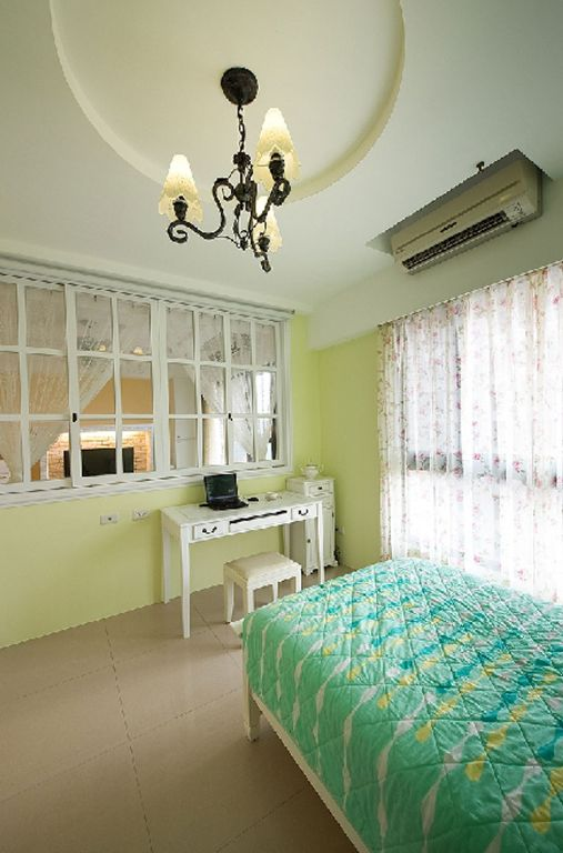 清新簡約臥室裝飾效果圖