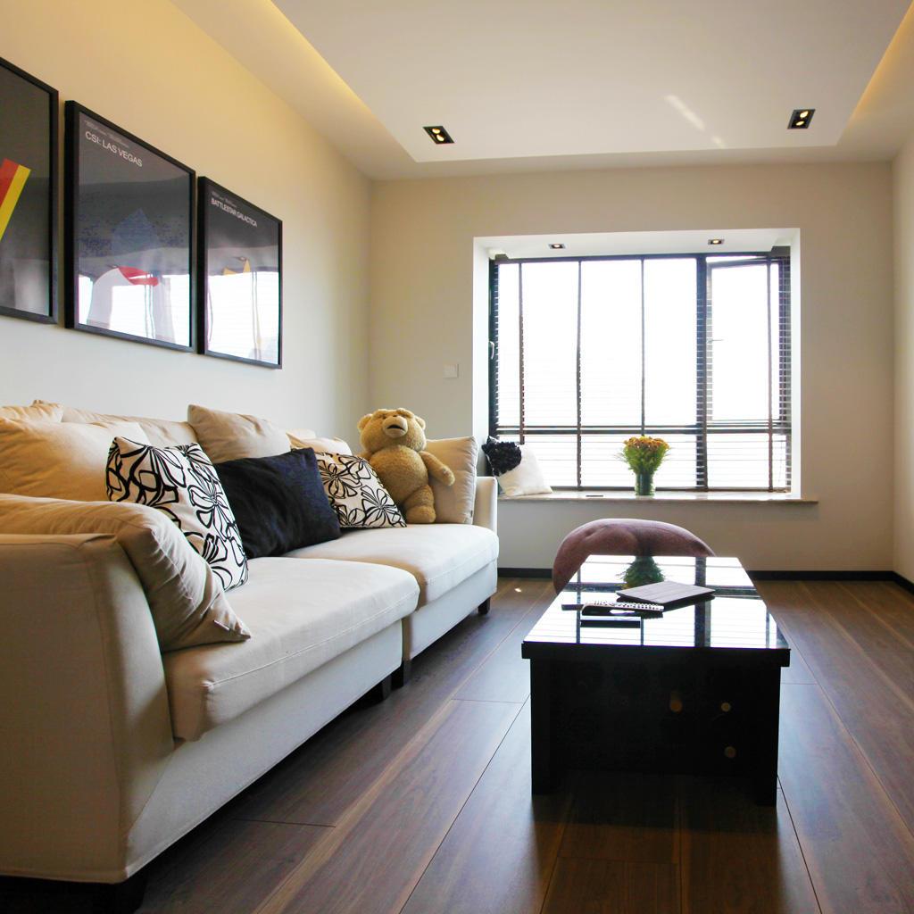 60平北欧混搭风二居室装修设计
