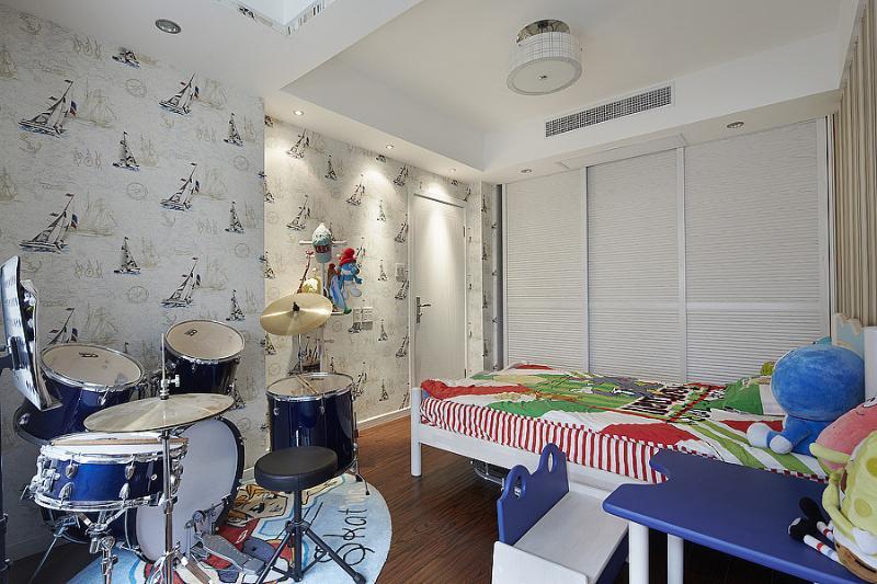 現代家裝兒童房裝飾鑒賞