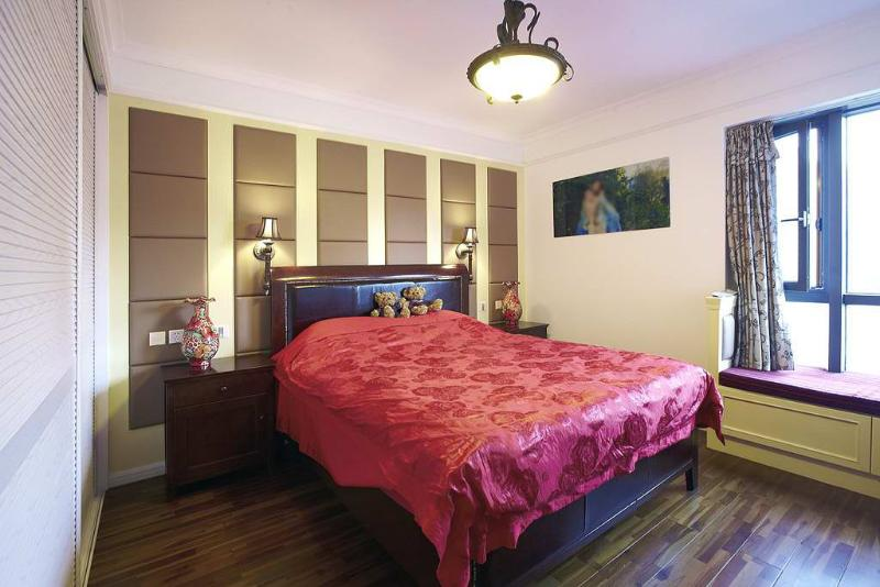 古朴地中海风格卧室装修图
