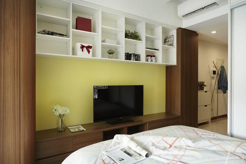 现代创意设计 电视背景墙效果图