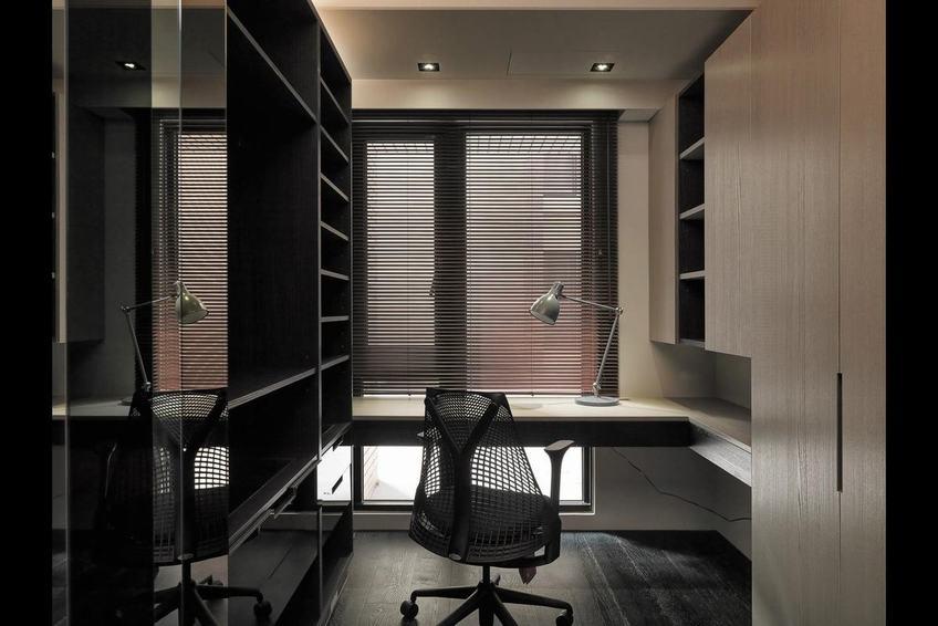 后現代風格公寓書房設計