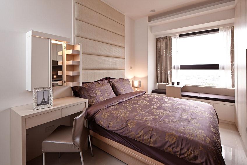 現代時尚設計臥室裝修圖