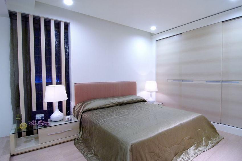 简约风格卧室床头灯装饰图-您正在访问第198页,北面卧室装修效果图