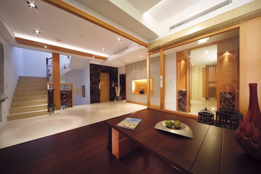 温馨日系酒店式别墅装饰效果图