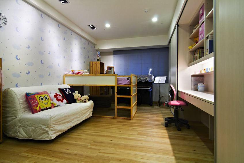 時尚現代兒童房設計裝修圖