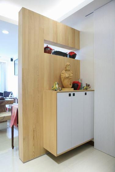 現代家居玄關鞋柜設計