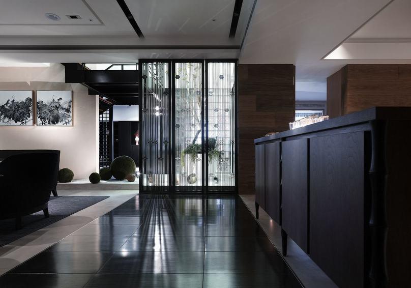 新中式風格家居隔斷設計