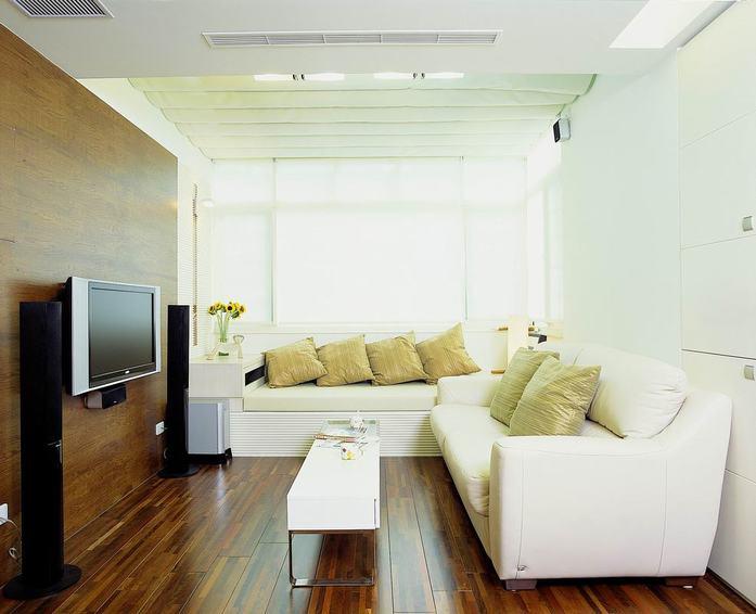 簡約公寓客廳裝飾效果圖