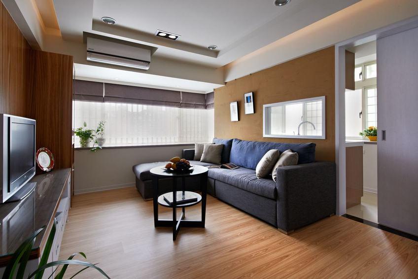 原木現代美式二居家裝效果圖