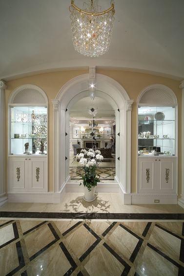 精致古典欧式风格 家居拱形门窗设计_装修百科