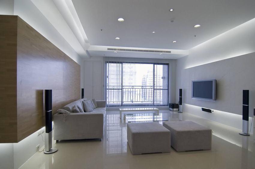 簡約裝修風格客廳樣板間