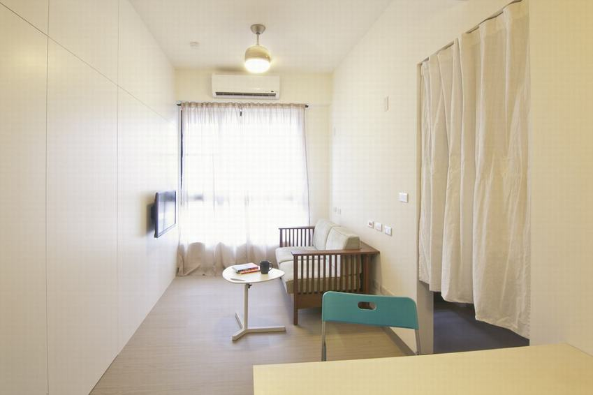 简约设计装修一居室欣赏图