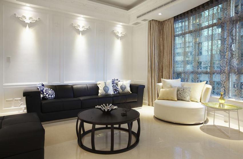 三室两厅简欧风格装修欣赏