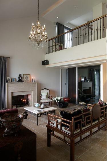 新古典装修风格复式家装欣赏图