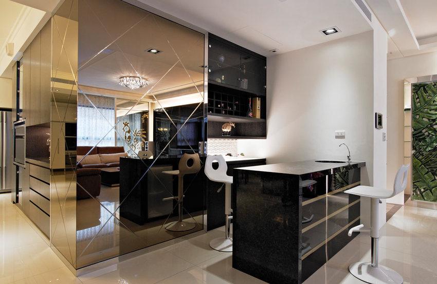 时尚后现代风家居吧台设计