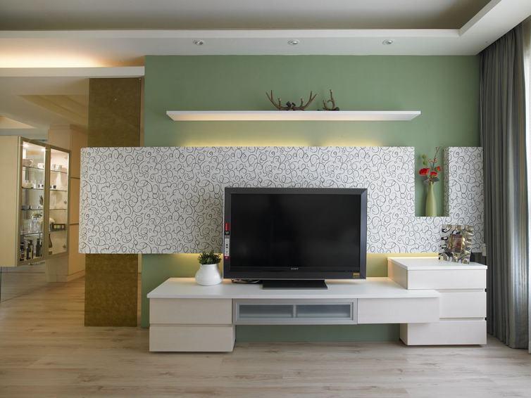 北欧电视墙装修效果图