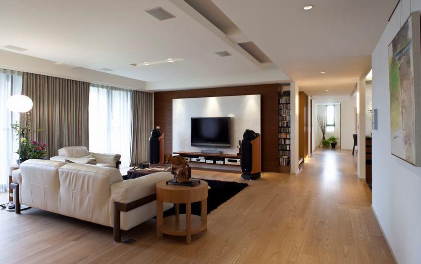 宜家酒店式三居装潢设计图
