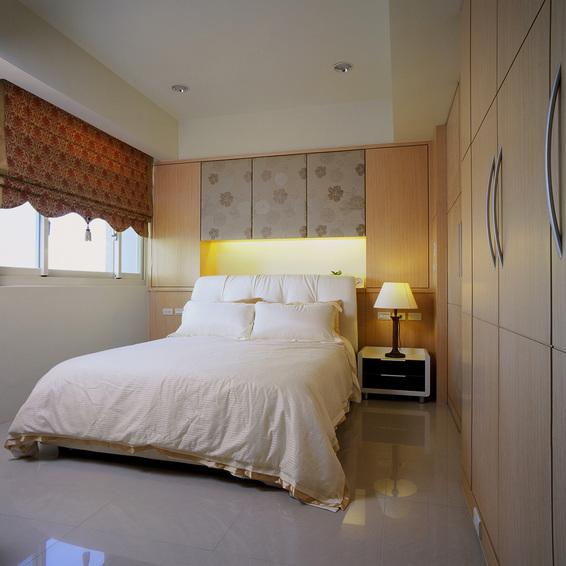 装修百科 装修效果图 装修美图 时尚混搭卧室床头灯设计 时尚混搭卧室
