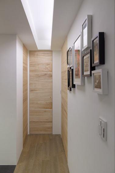 舒适宜家过道照片墙设计_装修百科