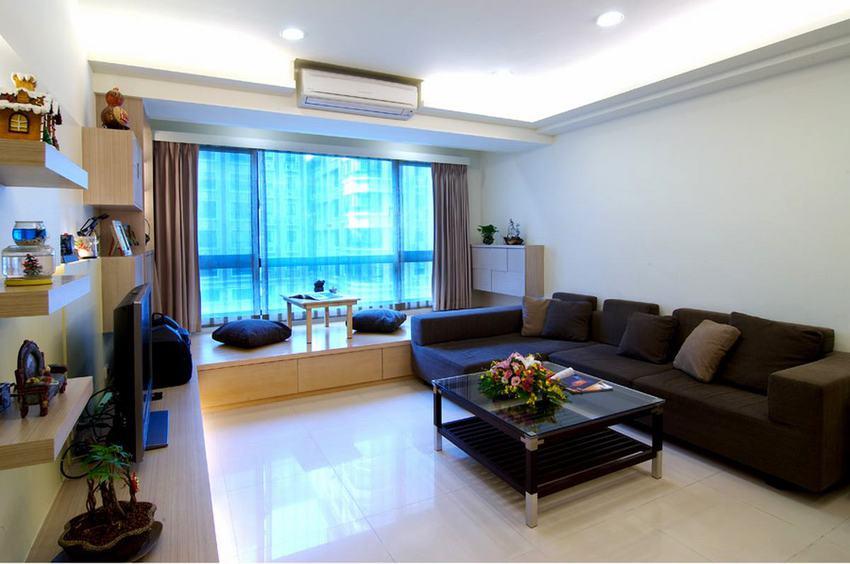 現代小戶型客廳裝飾欣賞
