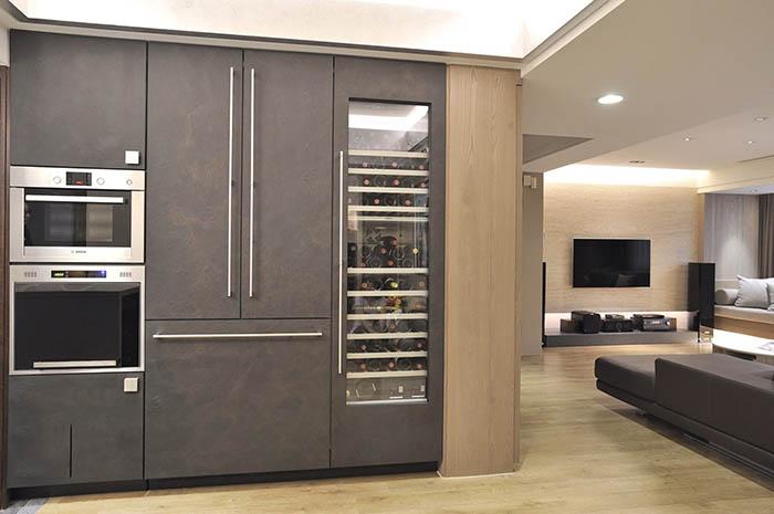 时尚现代家居多功能酒柜设计