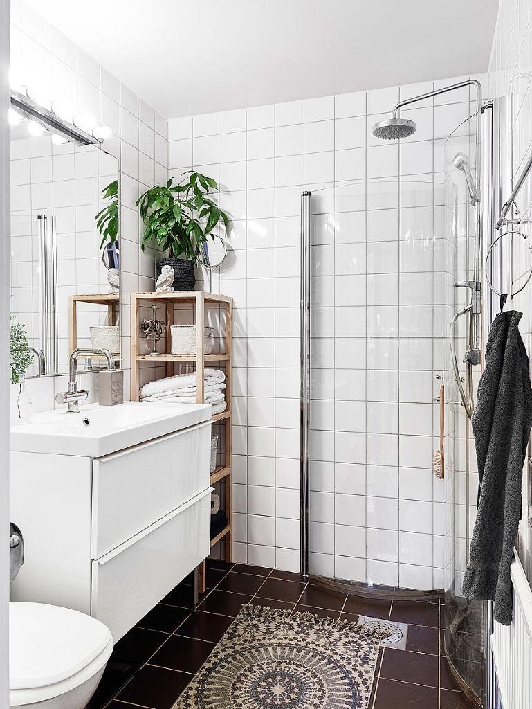 2017白色北欧风格衣柜卫生间装修效果图大全 2017白色北欧风格衣柜