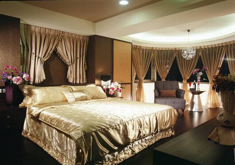 古典现代设计卧室装饰图