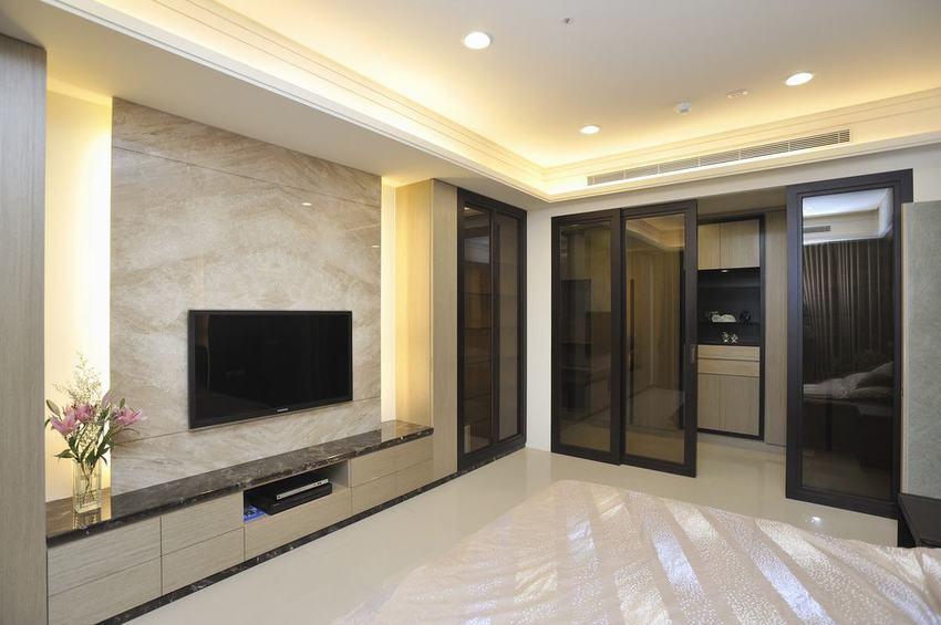 装修百科 装修效果图 装修美图 简约现代家居室内推拉门设计 简约现代