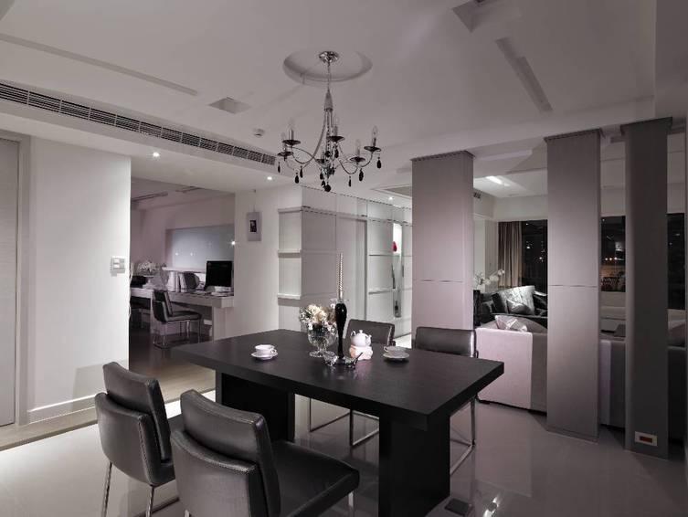 現代時尚裝修公寓餐廳設計