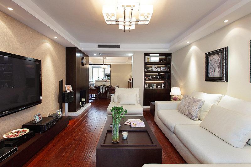 现代潮流三室两厅设计装修图