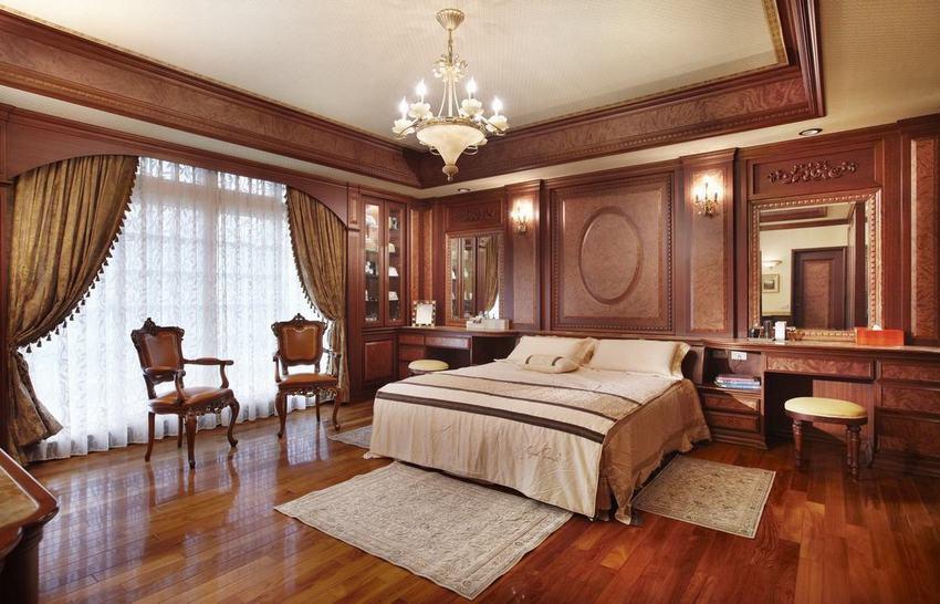 装修百科 装修效果图 装修美图 高端红木欧式豪华卧室欣赏 高端红木